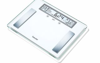 Beurer BG 51 Bilancia Diagnostica in Vetro con Capacità 200 kg e Multi-Display
